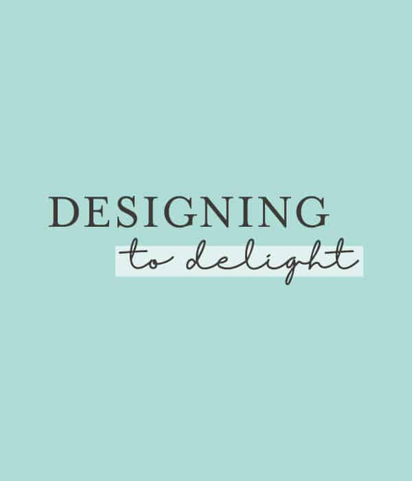 Designing To Delight Logo