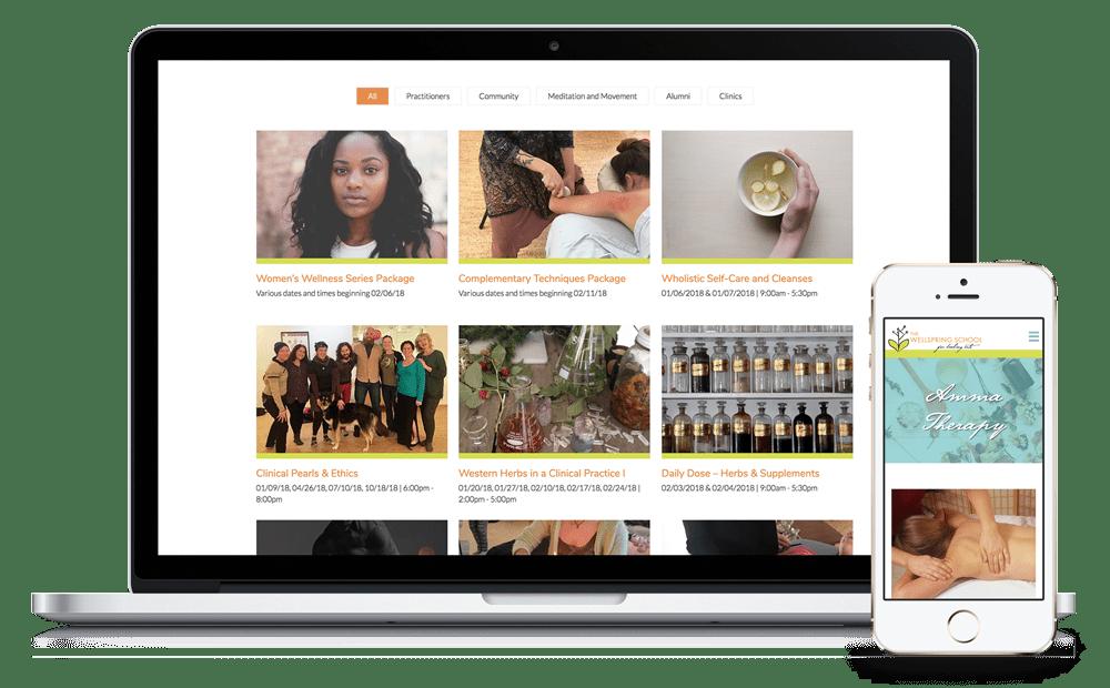 The Wellspring School Website